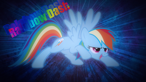 Rainbow Dash Wallpaper by ElectricHalo