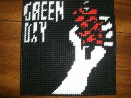 Green Day American Idiot Logo by phillipfanning