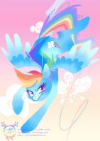 Rainbow Dash by mmishee