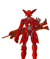 Vermilion xephon -red by prime512