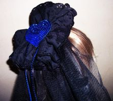 Black and Blue Heart by LuciousLara