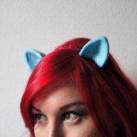 Resin My Little Pony Cosplay Ears by Vampire--Kitten