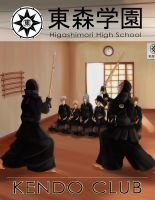 MM: Kendo Club Poster by lily-kat