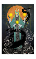 The Hierophant by Moerin