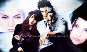 Zack Fair x Yuna by FallenSoldier-X