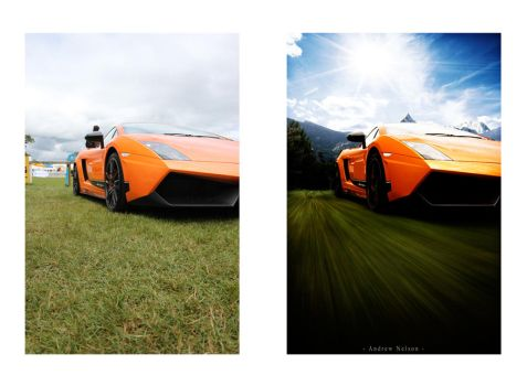 Lamborghini Before and After by nelo1988