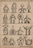 ROBOTZ Concepts 1 by radu-jm by Robot-drawing-club