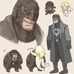 midnighter scribbles by RottenDeadpan