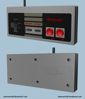 NES Controller by seancantrell