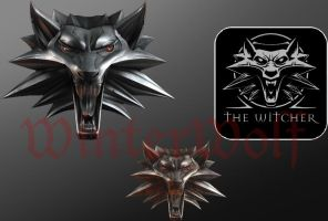 The Witcher - dock icons by WinterWerewolf