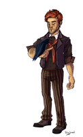 Booker DeWitt by Maoise