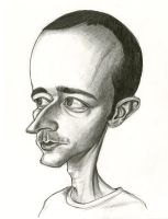 Self portrait caricature by Caricature80
