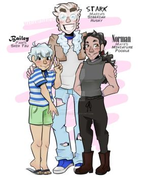 Humanized Pets by MariaMediaHere