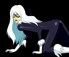 Black Cat by MegatronMan