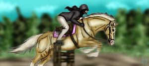 RPS Show Jumping by KwehCat