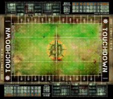 BLOOD BOWL BOARD GAME by TheMonkey-DavidLanza