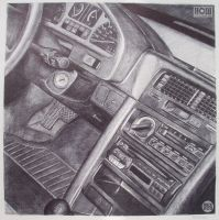 CRX interior by REX-203