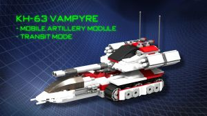 KH-63 Vampyre - Mobile Artillery Module by SWAT-Strachan