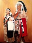 Old Chief Ike and Irene by SingletreeART
