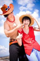 ONE PIECE - Brothers by Hasadosh