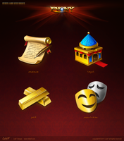 the evony Games icon design by hileef