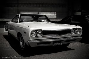 white plymouth sport satellite by AmericanMuscle