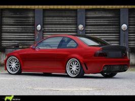Bmw M3 Coupe by Geryy