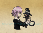 Crona and Blair by TheApatheticKat