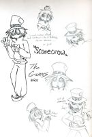 scarecrow sketches by mizu--chan