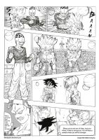 Goten and Trunks Vs Paikuhan by bloodsplach
