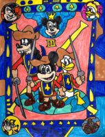 Mickey, Donald, Goofy: The Three Musketeers by SonicClone