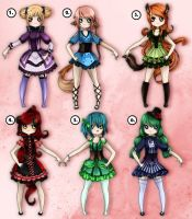 Point Adoptables (CLOSED) by Mikku-Adopts