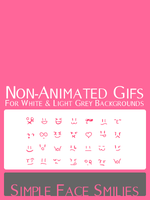 Simple Face Smilies by HastyCitrus