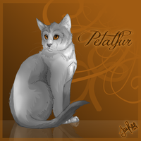 Petalfur of RiverClan by xxMoonwish