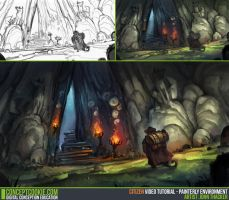 CGC Painterly Environment Tutorial by JohnoftheNorth
