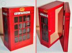 phone booth wooden box by cihutka123