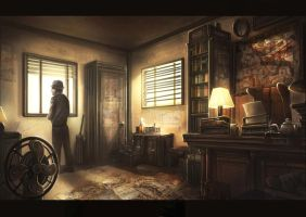 Detective Office by GremlinCat