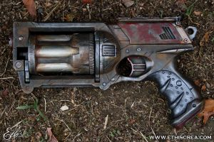 Nerf Maverick Post apocalyptic custom by Ethis-Crea