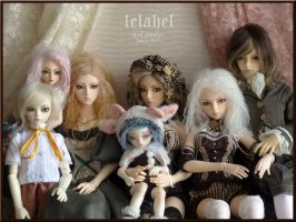 Doll Family by Lelahel-Clothes