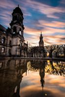 Dresden Cathedral of the Holy Trinity - Hofkirche by Torsten-Hufsky