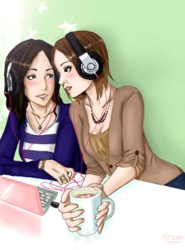 Music Love::Cougar Town:: by inicka