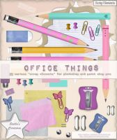 Office things by Stellas-Creations