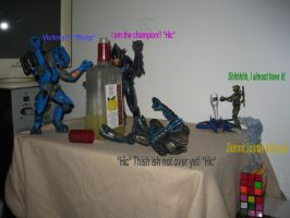 Little Bastards Part 1 by DraconicArmagon