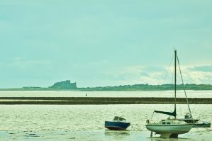 Lindisfarne Harbour III by scribbleXcore