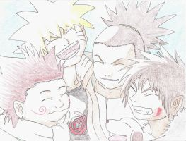 Naruto and Friends -final- by PassionatePink