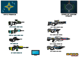 Weapon Concepts Cross Over by Luckymarine577