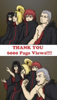 Reaction Akatsuki Thanks 6000 by TalonArt