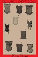Lovely Corsets by BrushHaven1