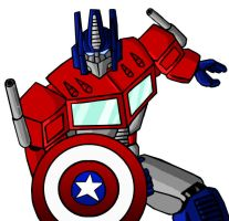 Optimus Primerica by mmcfacialhair
