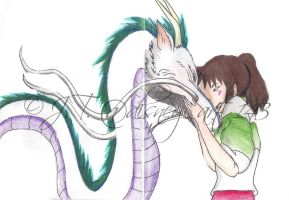 Spirited Away Drawing by jmint15
